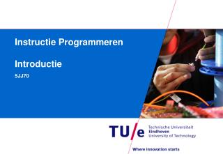 Instructie Programmeren Introductie