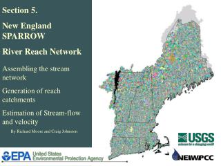 Section 5. New England SPARROW  River Reach Network