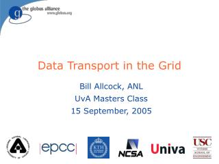 Data Transport in the Grid