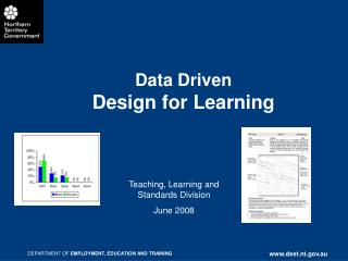 Data Driven  Design for Learning
