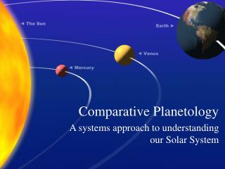 Comparative Planetology