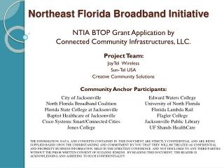 Northeast Florida Broadband Initiative