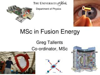 MSc in Fusion Energy