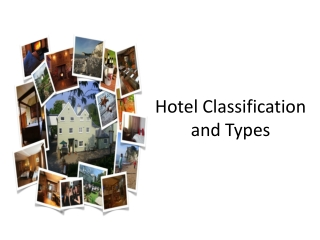 Hotel Classification and Types