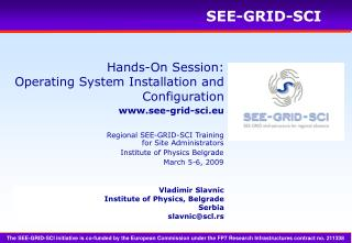 Hands-On Session: Operating System Installation and Configuration