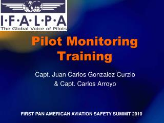 Pilot Monitoring Training