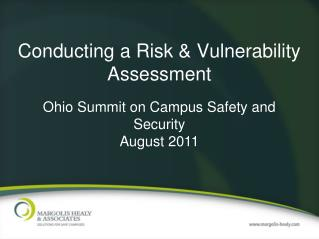 Conducting a Risk  Vulnerability Assessment