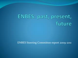 ENBES: past, present, future