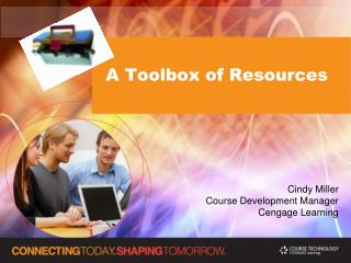 A Toolbox of Resources