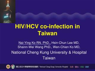 HIV/HCV co-infection in Taiwan