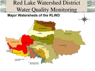 Red Lake Watershed District Water Quality Monitoring