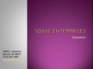 Soave Enterprises Provides Strategic Planning, Financial and
