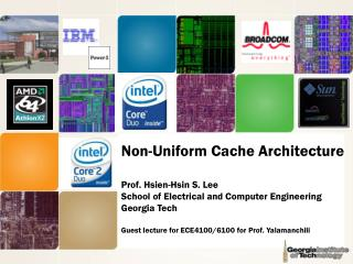 Non-Uniform Cache Architecture