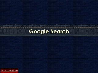 How to Search Using Google