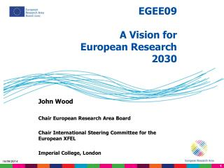 EGEE09 A Vision for European Research 2030
