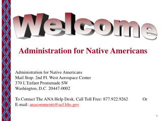 Administration for Native Americans