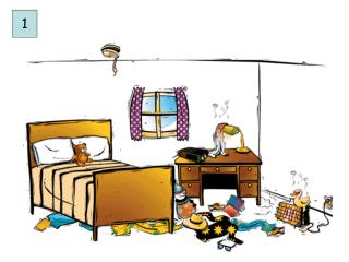 Picture Description – Tamara Rukis Topic:  Bedroom Objectives and Enabling Skills :