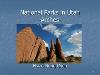 National Parks in Utah -Arches-