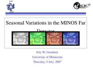 Seasonal Variations in the MINOS Far Detector