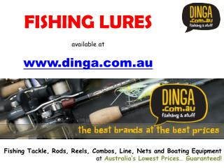 Fishing Lure, Metal Lure, Plastic Lure, Jigs | Dinga Fishing