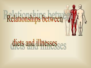 Relationships between diets and illnesses