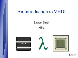 An Introduction to VHDL