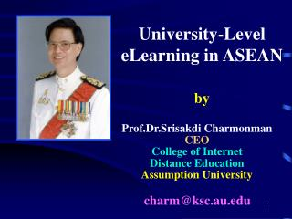 University-Level eLearning in ASEAN by