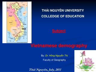 THÁI NGUYÊN UNIVERSITY COLLEDGE OF EDUCATION