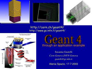 cern.ch/geant4/ gefn.it/geant4/