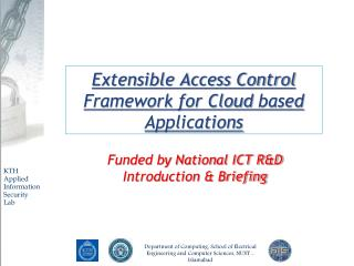 Extensible Access Control Framework for Cloud  based  Applications