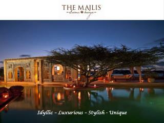 Lamu is an Indian Ocean destination