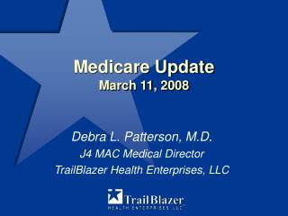 Medicare Update  March 11, 2008