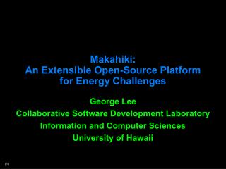 Makahiki:  An Extensible Open-Source Platform for Energy Challenges
