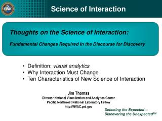Science of Interaction