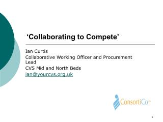 'Collaborating to Compete'