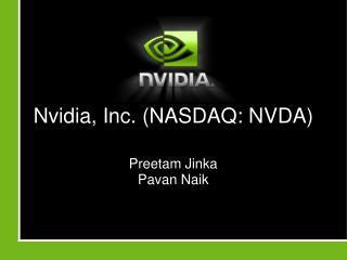 Nvidia, Inc. (NASDAQ: NVDA)