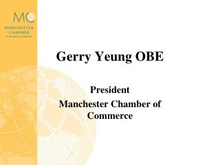 Gerry Yeung OBE