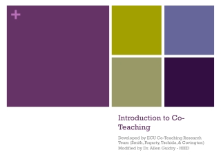 Co-Teaching: Implementation Strategies