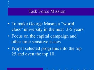 Task Force Mission