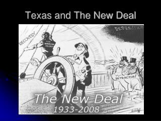 Texas and The New Deal