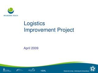 Logistics Improvement Project