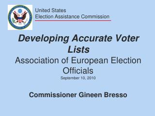 United States Election Assistance Commission