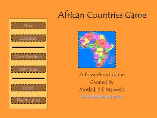 African Countries Game