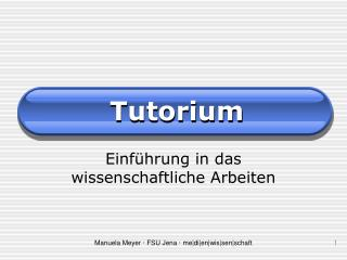 Tutorium