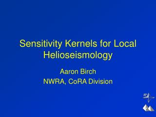 Sensitivity Kernels for Local Helioseismology