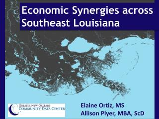 Economic Synergies across Southeast Louisiana