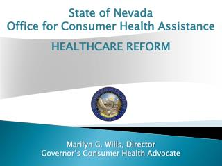 State of Nevada Office  for Consumer Health Assistance
