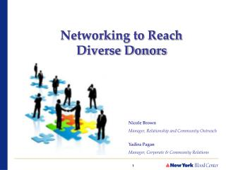 Networking to Reach Diverse Donors