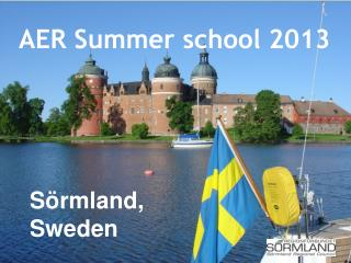 AER Summer school 2013