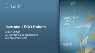 Java and LEGO Robots